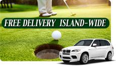 Free Maui Golf Club Delivery